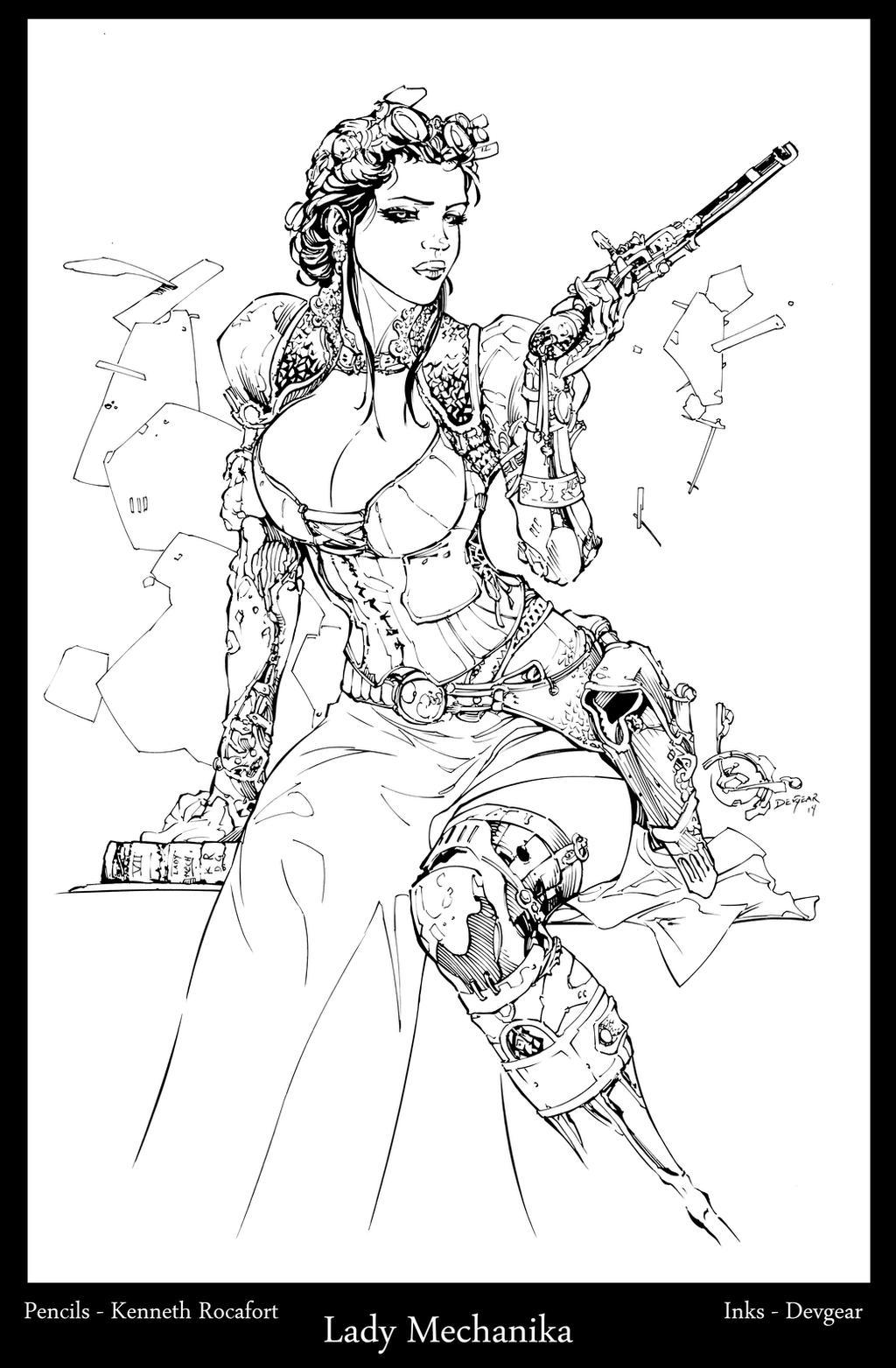Lady Mechanika by devgear