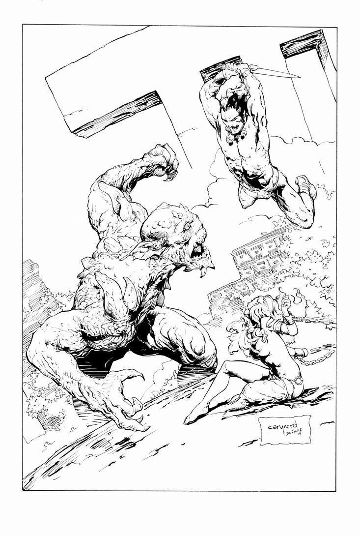 Conan Cover #15 by devgear