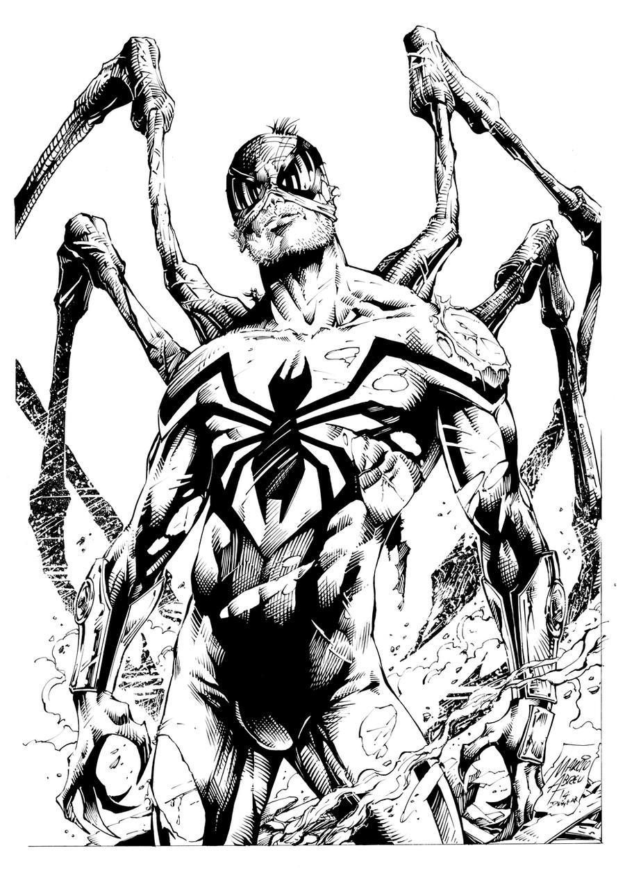 Superior Spider Inks by devgear