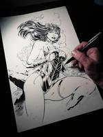 Wonder Woman Wip by devgear