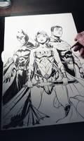 Wonder Supes Bats wip