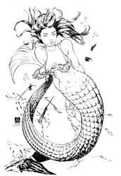 Mermaid Inks by devgear