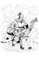 Hellboy Liz Inks by devgear