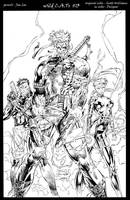 Wildc.a.t.s #13 Inks by devgear
