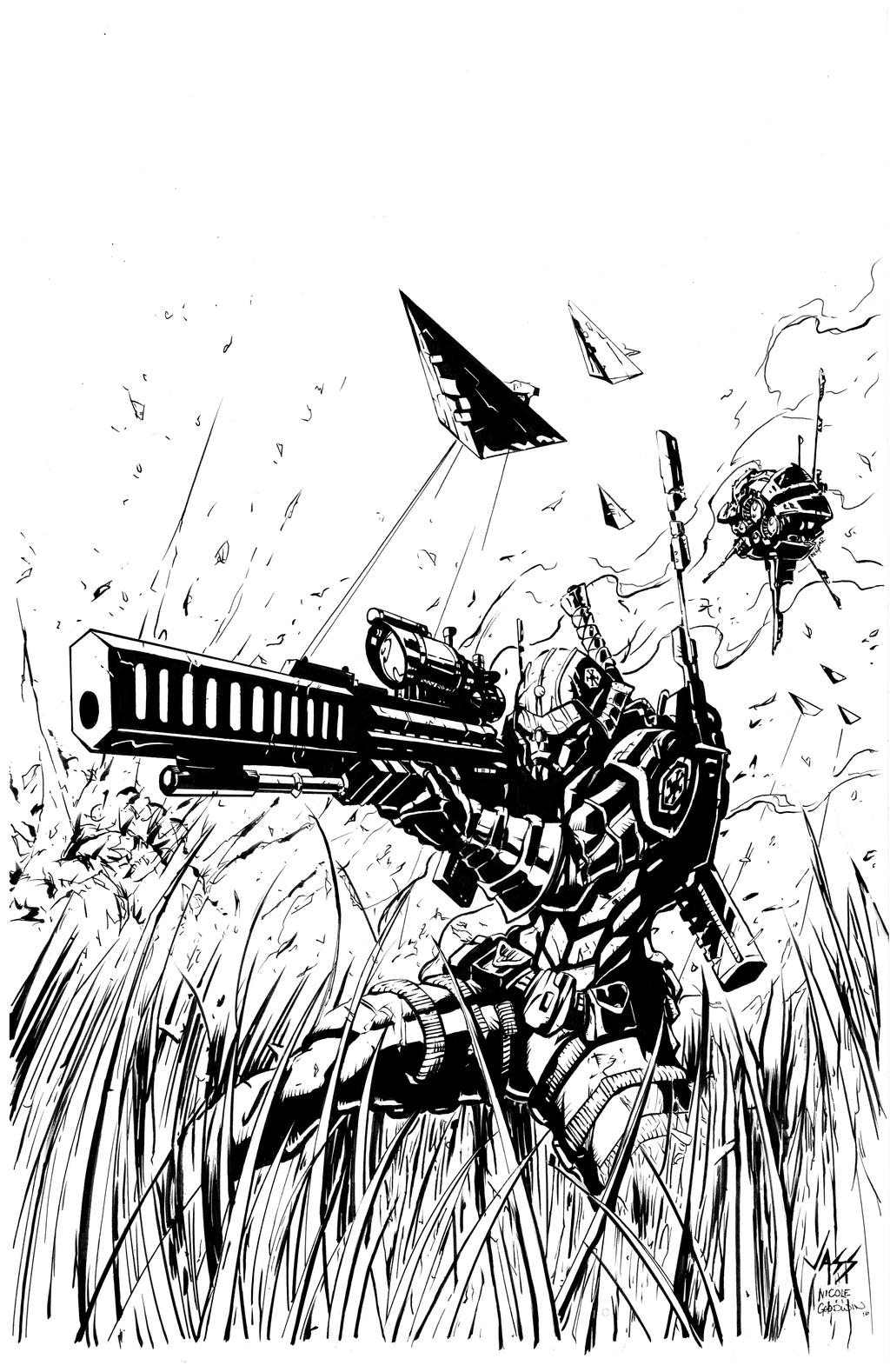 Imperial Agent Inks by devgear