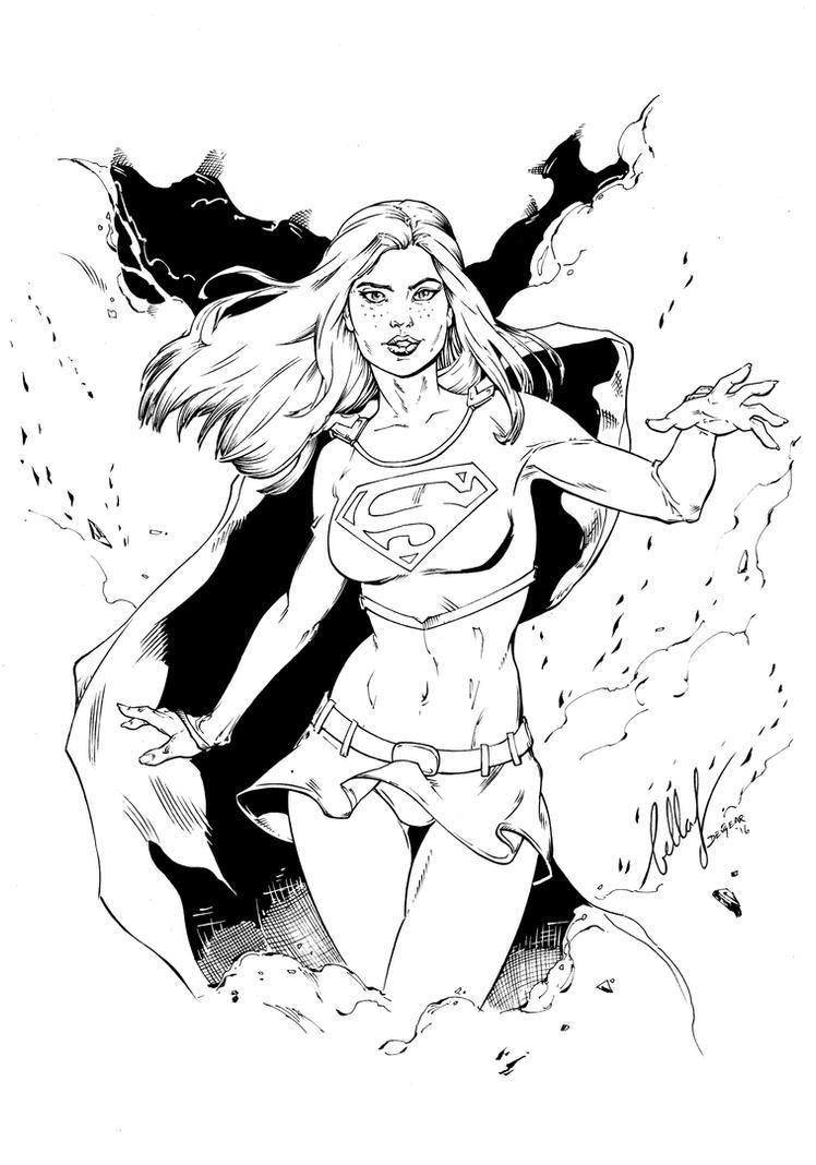supergirl Inks by devgear