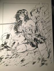 Wonder Woman Inks