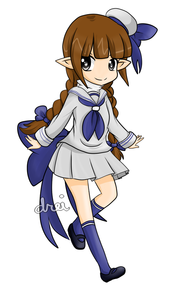 Wadanohara: Sailor Outfit by lilicovian03