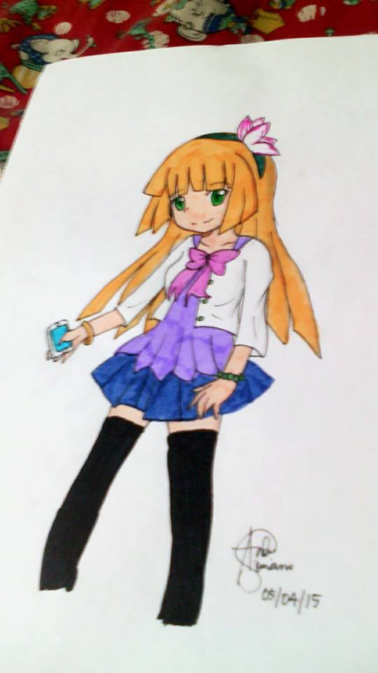 Miyako Doodle by lilicovian03