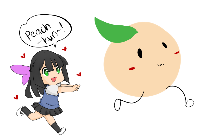 Peach-kun! by lilicovian03