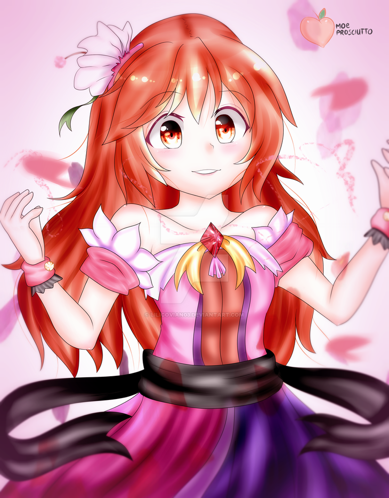 Flower Goddess by lilicovian03