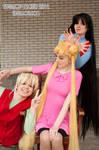 Minako, Usagi and Rei