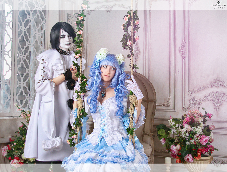Malvina and Pierrot by Vaishravana
