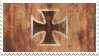 Iron Cross rust stamp by treshaus
