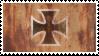 Iron Cross rust stamp by treshaus