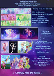Commission price list  - OPEN by Ammreva
