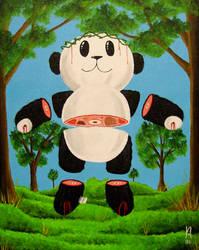 Jesus Christ Super Panda by j-jorgenson