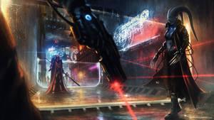 Star Wars reimagined - Twi'lek shadowrunner