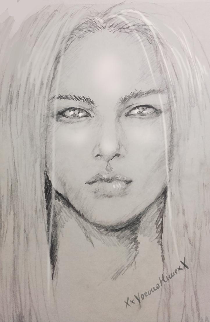 Realism practice - Asukai Sougen by XxYorunoHimexX