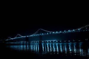 bay bridge by pacmangeek