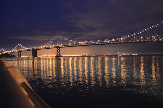 bay bridge at dawn 2