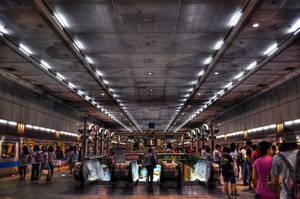 Metro Station by pacmangeek