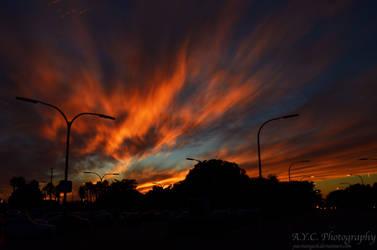 Fire In the Sky by pacmangeek
