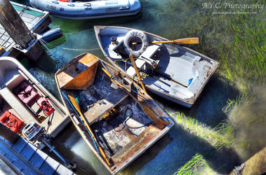 Boats by pacmangeek