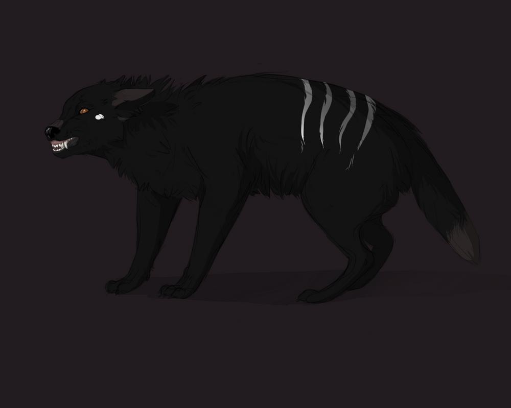 black wolf by DarianYunidi