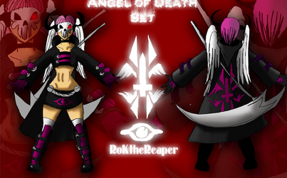 Angel of Death - Female Set by RoK-the-Reaper