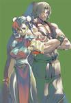 Street Fighter II funart