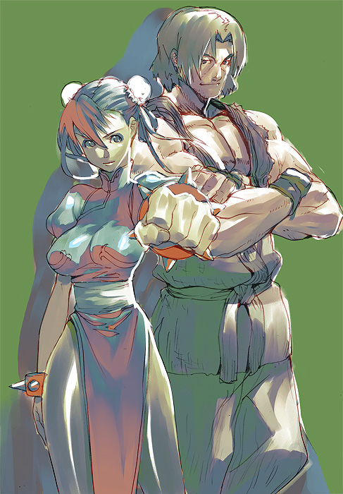Street Fighter II funart by Ryo-ta