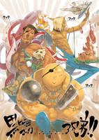 original funtasy characters 02 by Ryo-ta