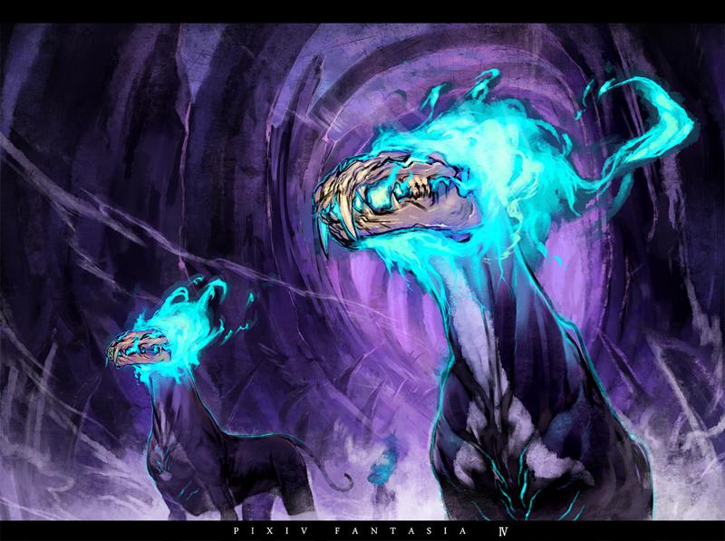 pixiv fantasia illustlation1 by Ryo-ta