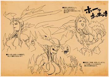 character2-facial expression by Ryo-ta