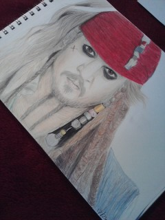 Jack Sparrow (12-26-12) Angle by AriesArtist22