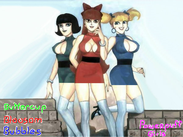 The Power Puff Girls by Pixellizer
