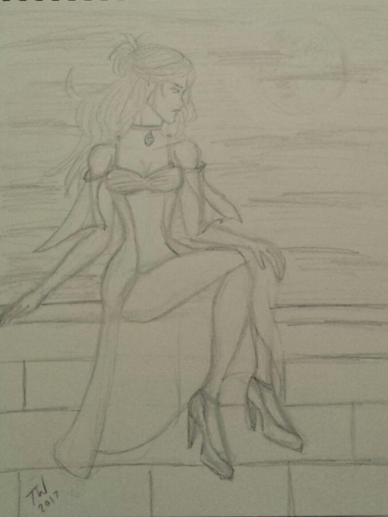 Waiting by SelenaYakira