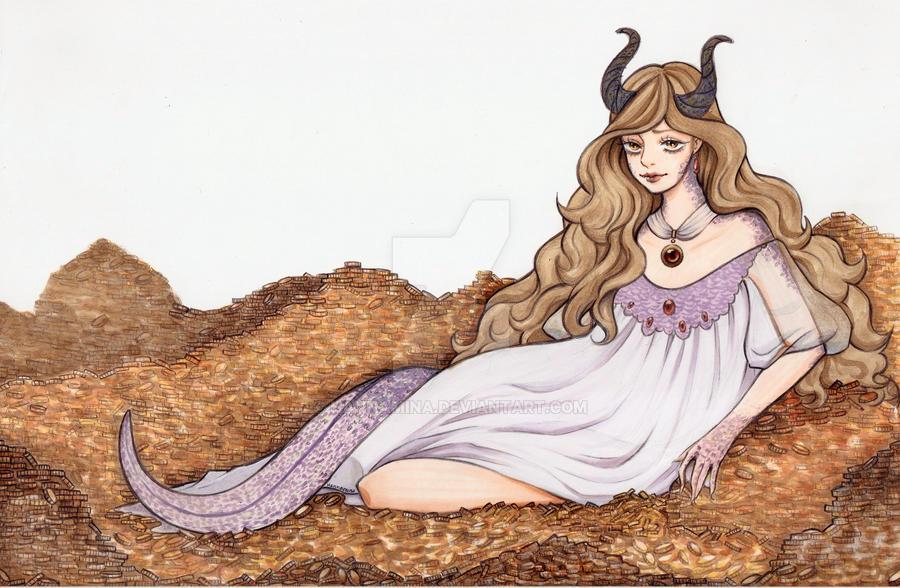Dragon by Hannamina
