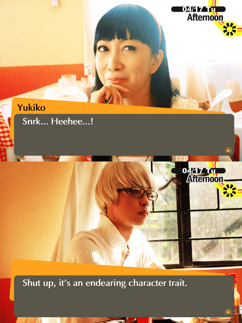 Persona 4 dating ukiko
