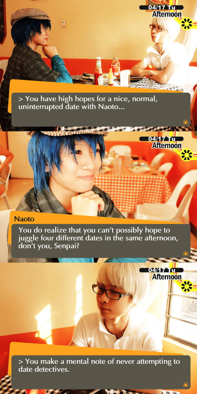 Persona 4 dating nanako anime 5