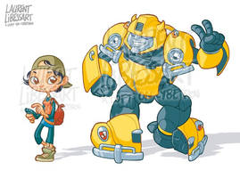 Cute IDW bumblebee and verity