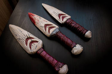 Bunch of various Princess Mononoke Daggers by RinokoCosplay