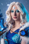 Crystal maiden -  My temperature's dropping. by RinokoCosplay