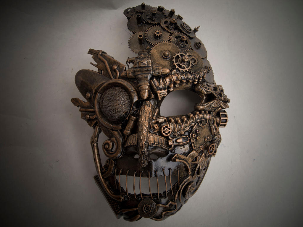 Mask by artcreativehands on deviantart for Steampunk arts and crafts