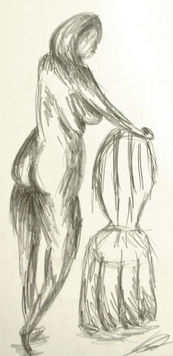 life drawing 3 by riverrain