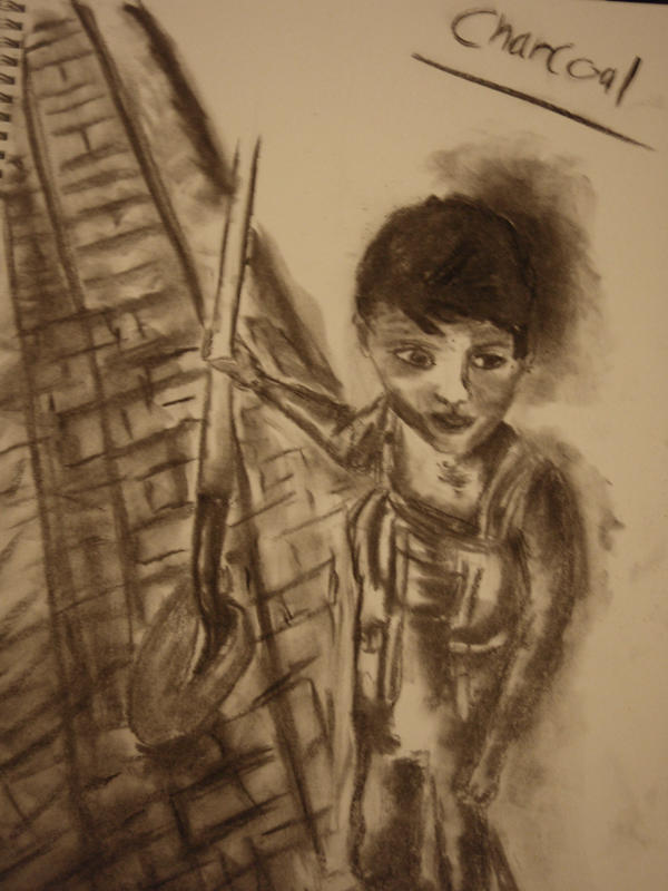 charcoal boy by riverrain