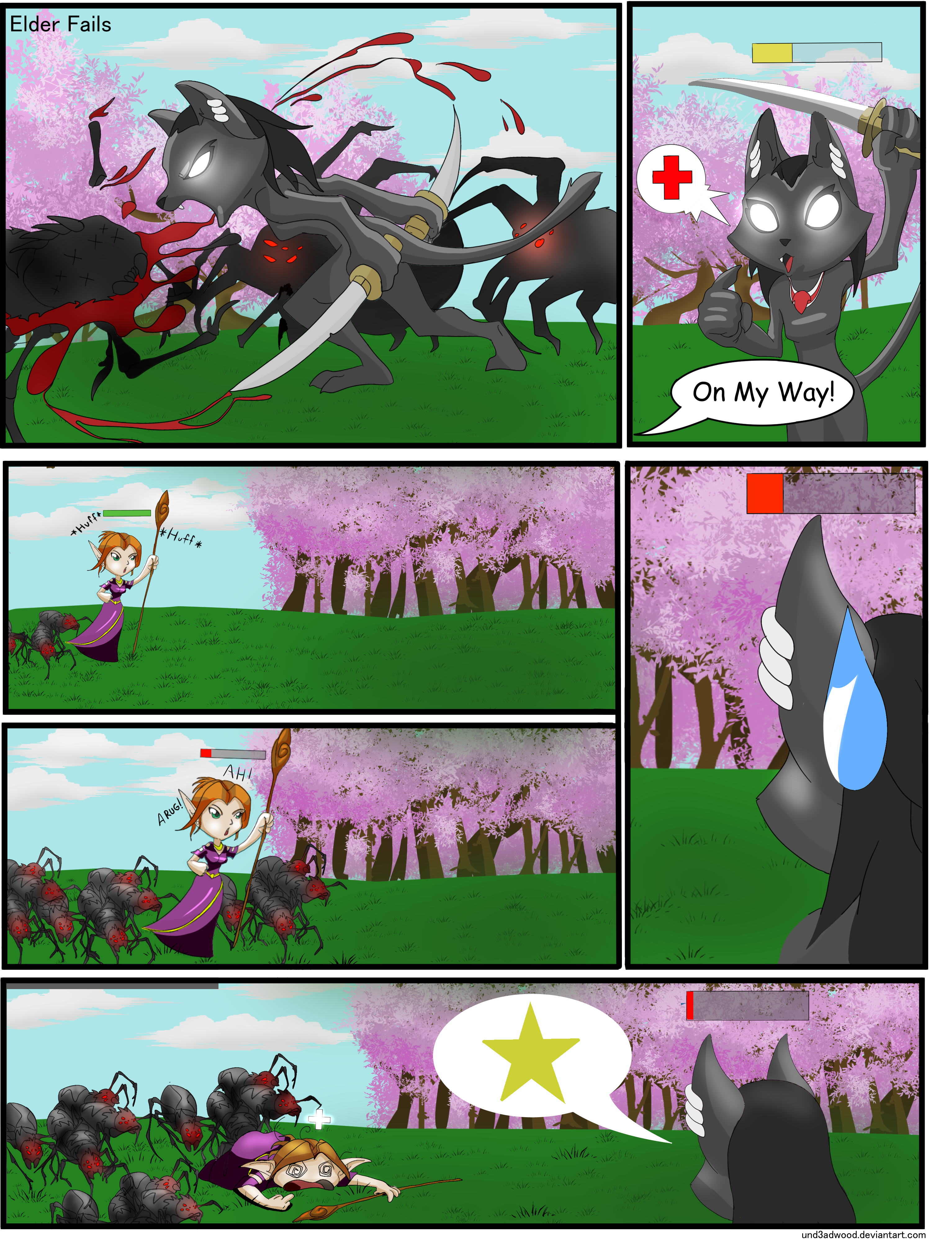 Quam, the Mighty Healer by Und3adwood