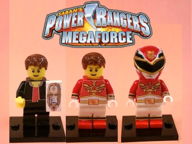 Lego Power Rangers Megaforce Red By 0yakata On Deviantart