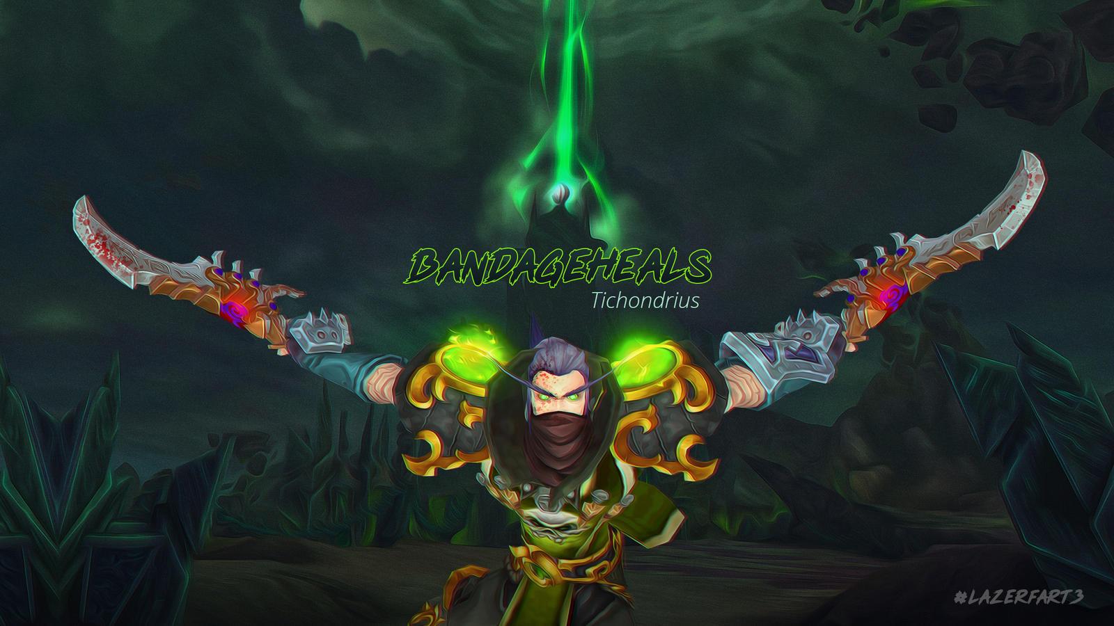 Elf Rogue World Of Warcraft Legion Wallpaper By Lazerfart3 On